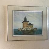 Toledo Harbor Light By Hetrick