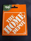 The Home Depot Gift Card $50