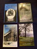 Black Swamp Series of 4 by Jim Mollenkopf