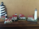 Cana Island, Bailey's Harbor, Musical Cape Hatteras, Grand Traverse, Big Sable Harbor Lights, Lefton