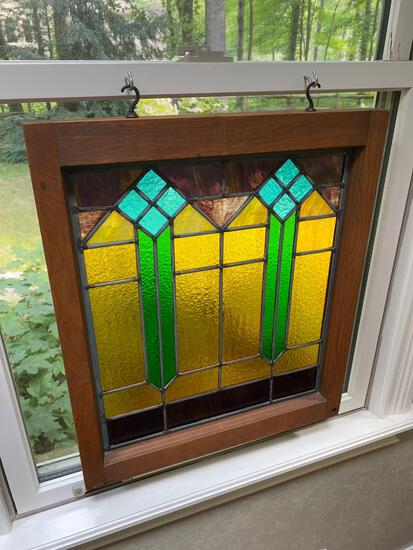 M- Stain Glass