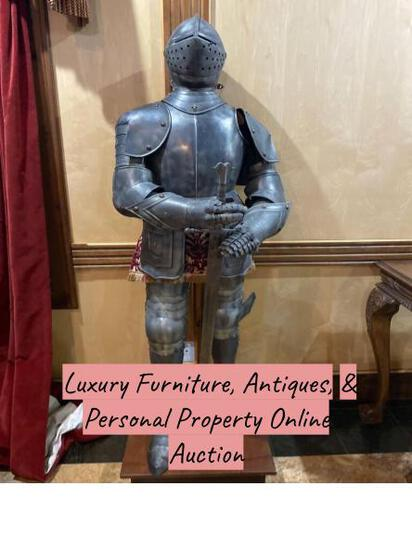 Luxury Furniture, Antiques, & Personal Property