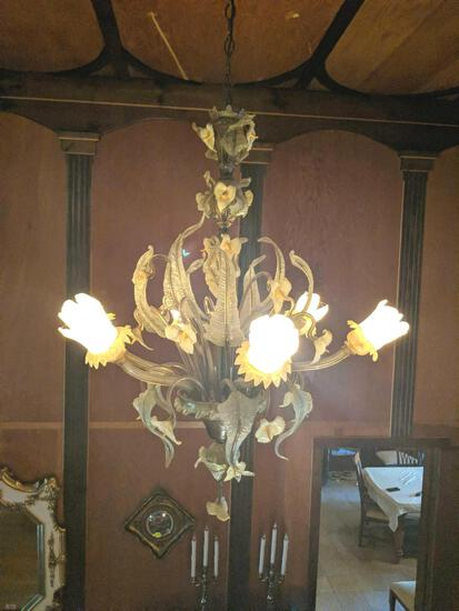 X- 3- Murano Glass Chandelier
