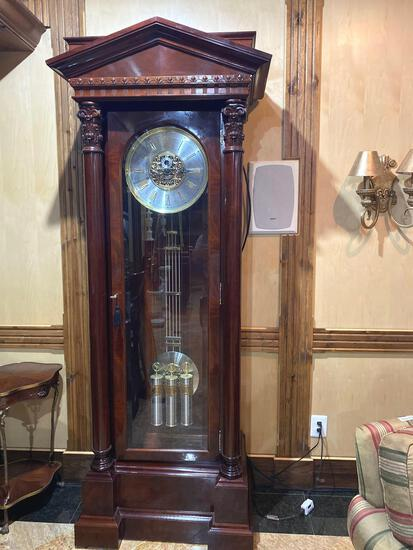 Z- 4- Howard Miller Grandfather Clock