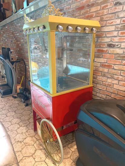 Z-16- Popcorn Cart