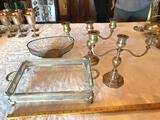 1- (3) Lot of Silverplates