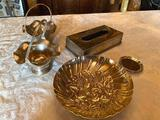 1- (5) Lot of Silverplates