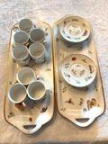 1- Godinger & Co Tea Set