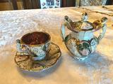 1- Tea Set of Capodemonte