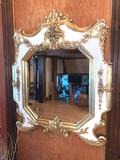 3- Painted Wood Framed Mirror