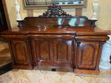 4-Z- Large English William IV Sideboard/Server/Bar