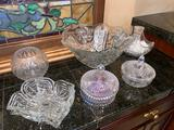 4- Glass and Crystal Decor