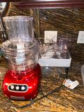 8- Kitchen Aid Food Processor with Accessories
