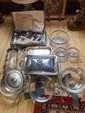 1- Large Lot of Silverplate