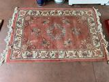 G- Wool Carved Tufted Area Rug