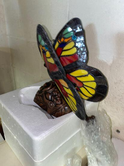 BS2- Pair of Butterfly Lamps