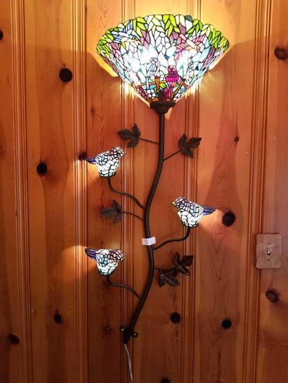 O - Wall Bird Lamp