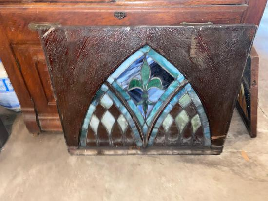G- Stained Glass in Wood