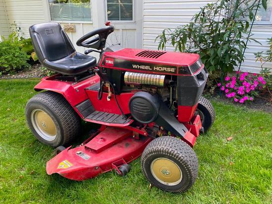 OG- Red Toro Wheel Horse Ride-on Lawnmower & Snow Plow