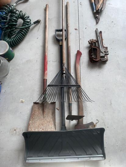 OG- Lot of Yard Tools