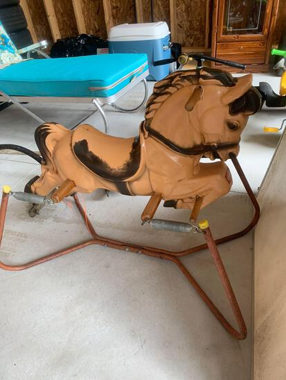 OG- Whiteboard and Vintage Horse Ride-On