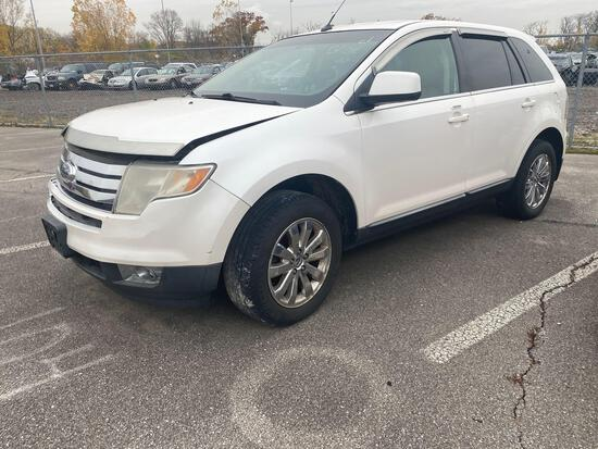 2010 White Ford Edge