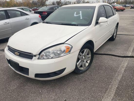 2007 White Chevy Impala