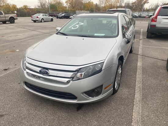 2010 Silver Ford Fusion