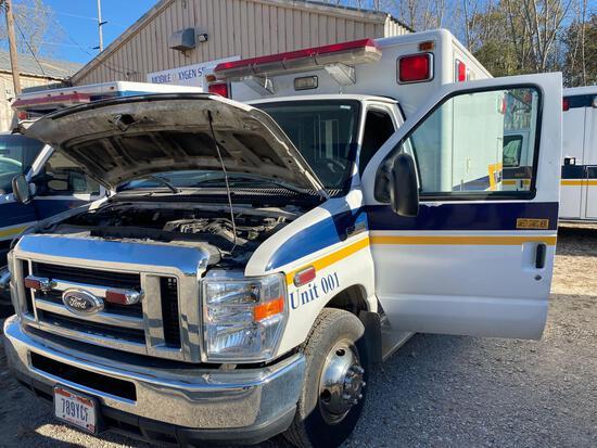 2009 Ford E-350 Horton Ambulance