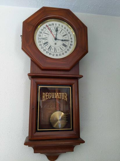 B2- New England Spring Wound Regular Clock