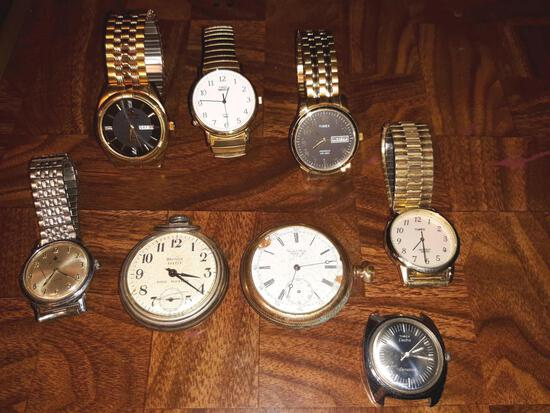Lot of Watches, Pocket Watches