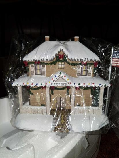 B- Hawthorne Village Christmas Decor