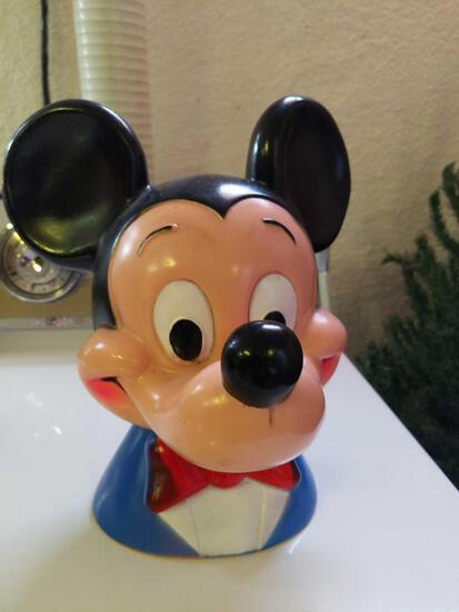 B- Mickey Mouse Piggy Bank