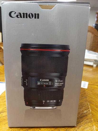 B- Canon EF 16-35mm