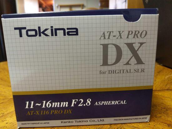 B- Tokina 11-16mm