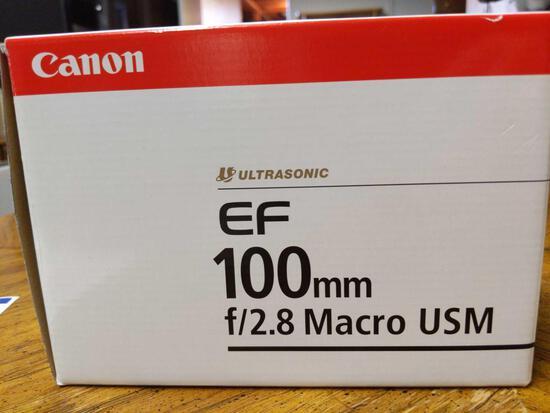 B- Canon EF 100mm