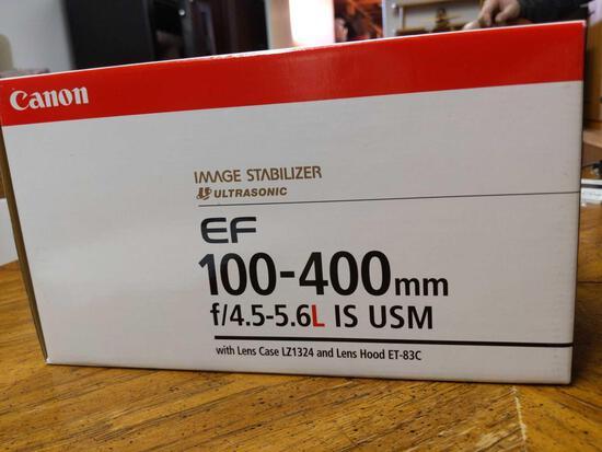 B- Canon EF 100-400mm