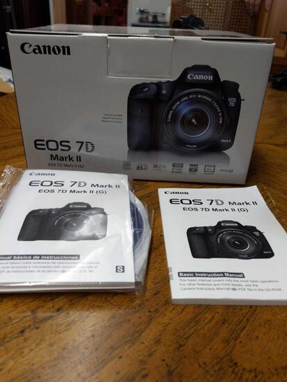 B- Canon EOS 7D Mark II Camera Body