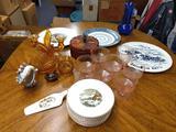 B- Lot of Miscellaneous Glass