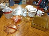 B- Assorted Home Goods and Glassware