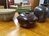 B- Lot of Pottery