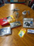 B- Air Brush Supplies and Accessories