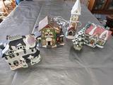 G- (4) Christmas Village