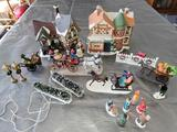 G- (2) Christmas Village
