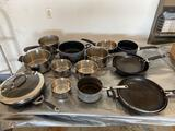 Garage- Pots and Pans with Lids