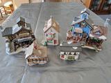 G- (6) Christmas Village
