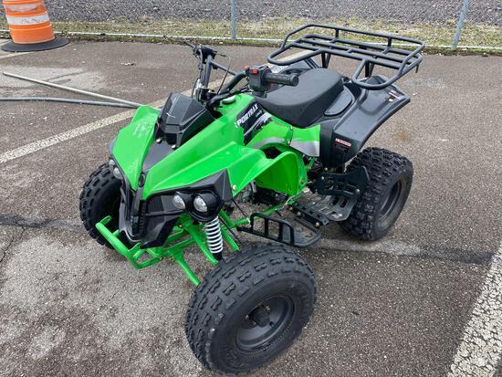 Green Quad Motorcycle APSP