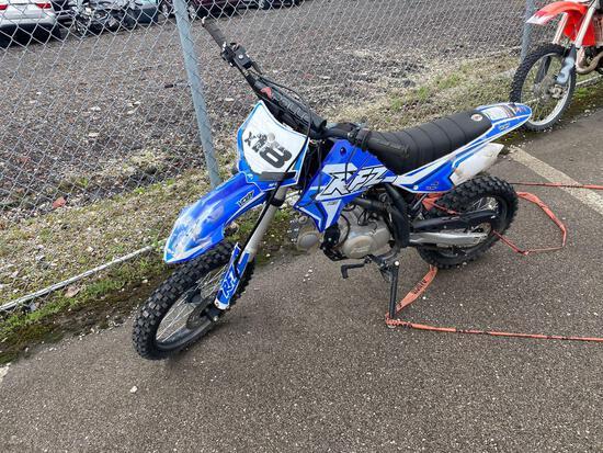 2020 Blue Dirt Bike