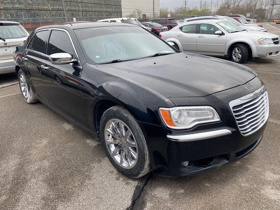 2012 Black Chrysler 300