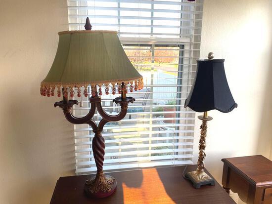 LR- Pair of Lamps